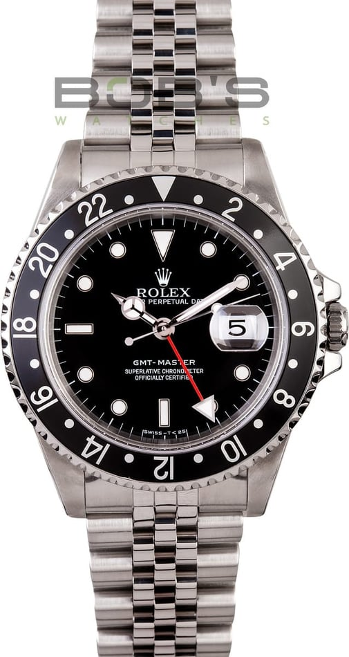 Pre-Owned Men's Rolex GMT-Master Model 16700