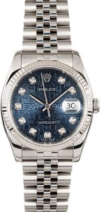 Rolex DateJust Diamond 116234
