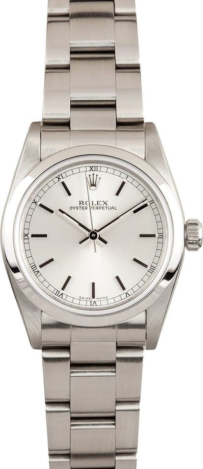 Mid-Size Rolex Oyster Perpetual