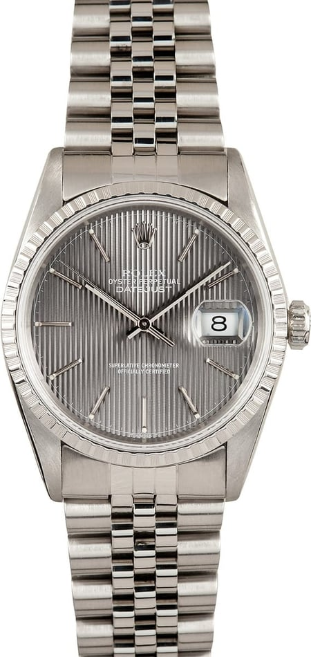 Rolex Datejust 16220 Grey Tapestry, 1991/1992