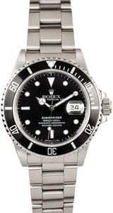 Vintage Rolex Submariner Transitional 168000