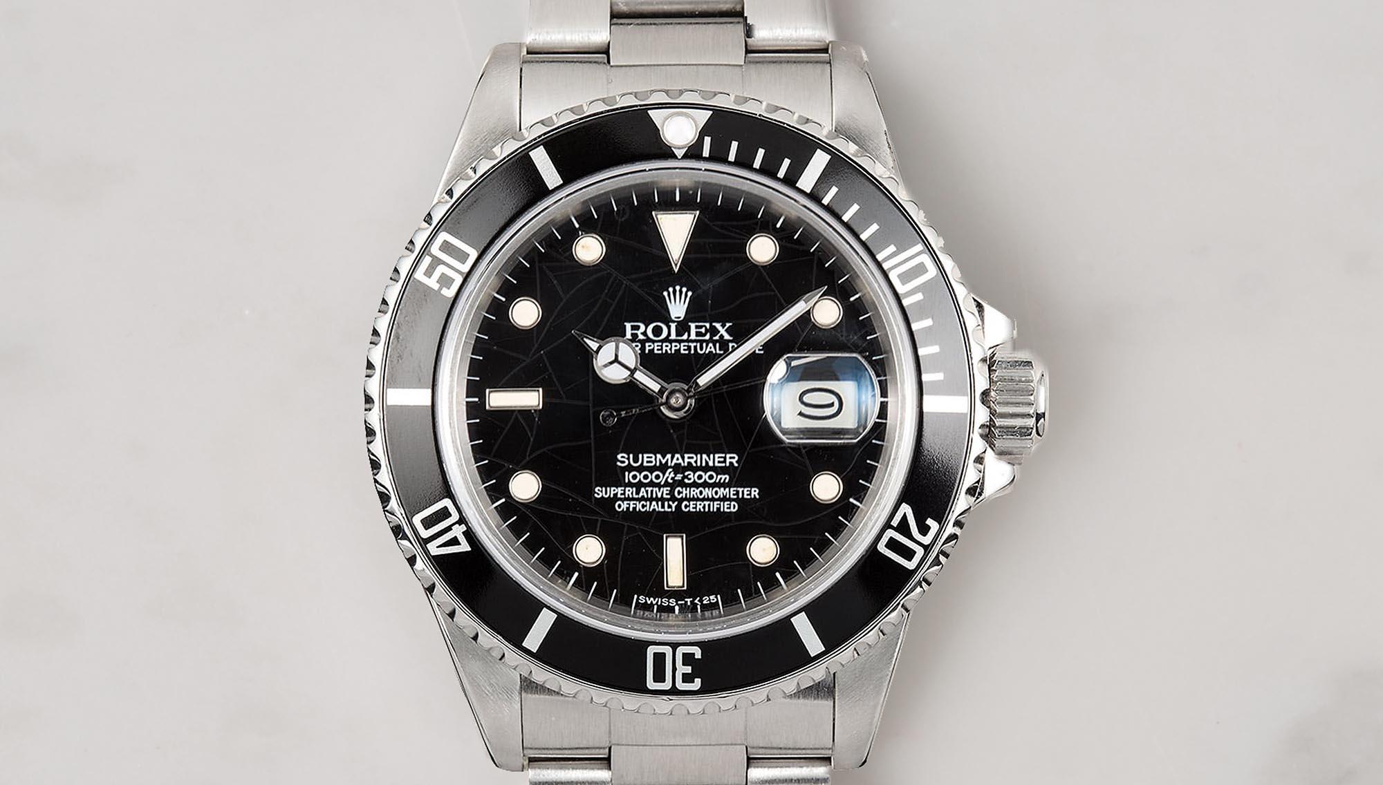 Rolex Submariner 5513 Timeline