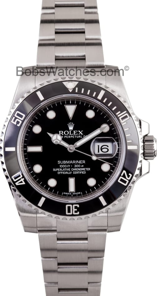 Rolex Black Ceramic Submariner 116610