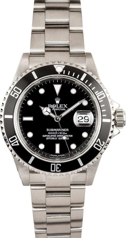 Rolex Submariner 16610 at Bob's Watches