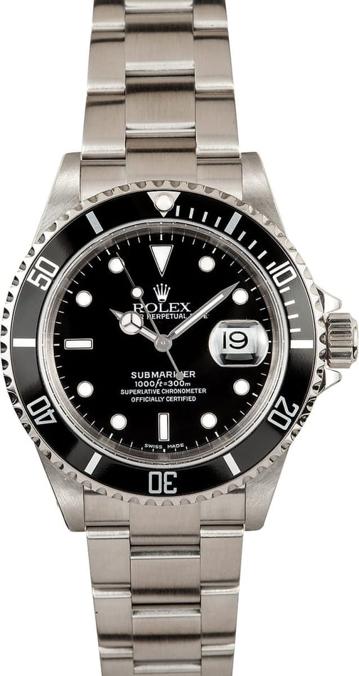 Rolex Submariner Stainless Steel 16610