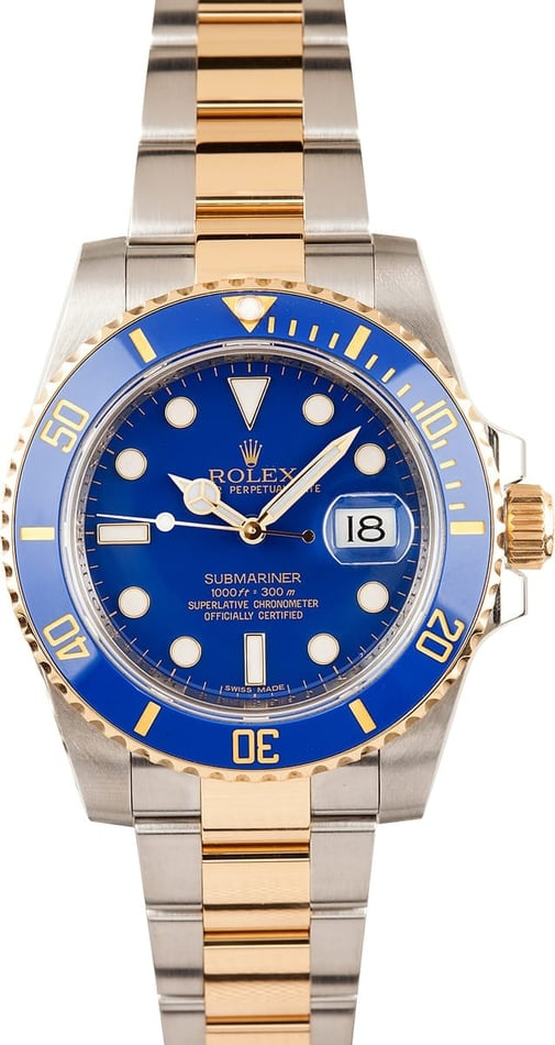 Rolex Submariner Blue Ceramic 116613