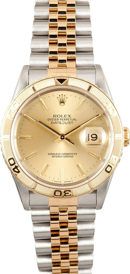 Rolex Thunderbird DateJust 16263 Men's