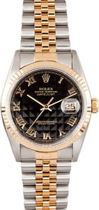 Datejust Rolex Stainless and Gold