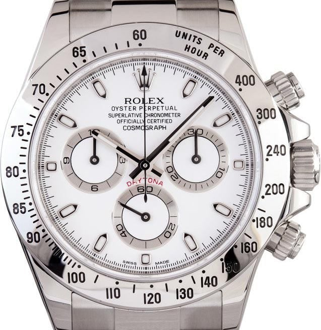 Rolex 116520 Daytona Stainless Steel
