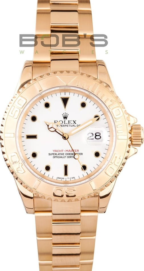 Used Rolex Men's Yachtmaster 16628