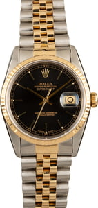 Pre-Owned Rolex Datejust 16233 Two Tone Watch