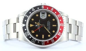 Pre Owned Men's Rolex GMT-Master II Coke Bezel Model 16760