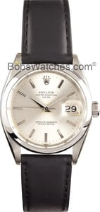 Rolex Vintage Oyster Perpetual Men's Steel Watch 6286