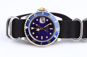 Pre-Owned Rolex Submariner Steel & Gold Transitional 16803