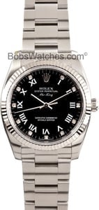 Rolex Air-King 114234 - Black Diamond Dial