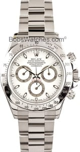 Rolex Stainless Steel Daytona 116520 Mens