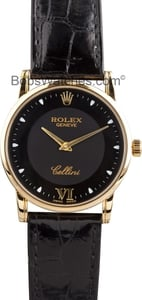 Rolex Cellini Men's 18K Yellow Gold Watch 5116