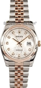 Rolex Datejust Mens 31 Jewels Automatic Watch 116231WRJ