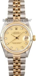 101895 x Used Rolex Datejust Midsize Watch 68273