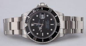 Rolex Submariner Stainless Steel 16610 Preowned