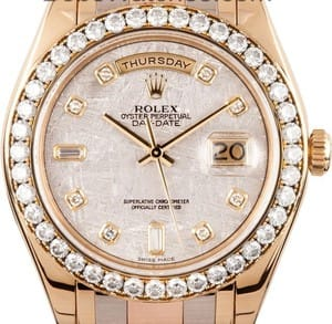 Men's Rolex Masterpiece Watch 18948