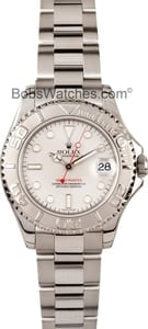 Pre Owned Rolex Midsize Yachtmaster Watch 168622