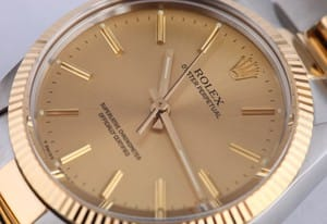Men's Rolex Oyster Perpetual 1005 two-tone