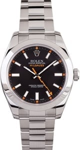 Rolex Milgauss 116400 Black 40MM