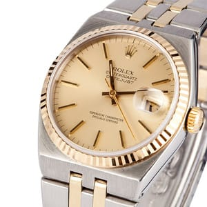 Men's Rolex Datejust Oysterquartz 17013 Pre-Owned