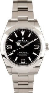 Rolex Black Explorer I 39MM 214270