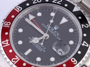 Rolex GMT-Master II 16710 - Coke Insert No Holes Case