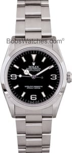 Used Rolex Explorer 14270 Men's at Bob's Watches