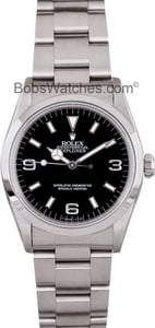 Used Rolex Steel Explorer 14270