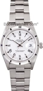 Used Men's Rolex Oyster Perpetual Date Steel Model 15210