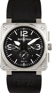 Bell & Ross Black Dial Unisex Watch