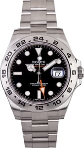 Rolex Explorer II 216570 Black Dial 42MM