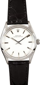 Rolex Vintage Oyster Perpetual Men's Steel Watch 5552