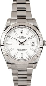 Rolex DateJust II 41MM 116334 Luminous Dial