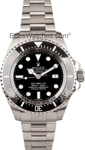 Mens Rolex 44MM Deep Sea Seadweller