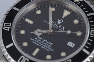 Rolex Seadweller at Bob's 16600