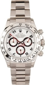 Rolex Daytona 116509 White Gold