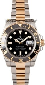 Used Rolex Submariner 116613 Two Tone