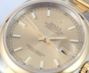 Rolex Datejust Smooth Bezel 116203