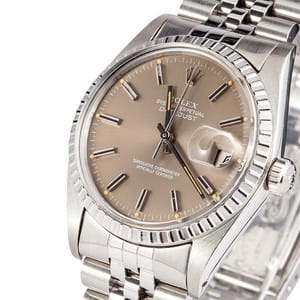 Used Men's Rolex DateJust Stainless 16030