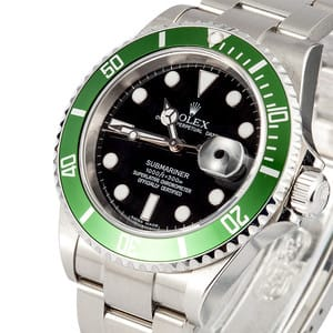 Pre Owned Rolex Submariner Green Anniversary Edition 16610LV