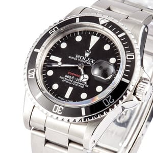 Pre-Owned Rolex Submariner 1680 Red