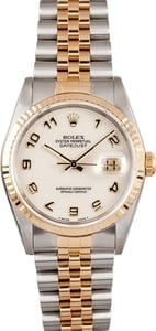 Rolex DateJust Model 16233 Jubilee Bracelet