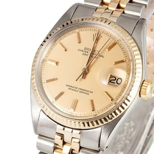 Vintage Rolex DateJust Two Tone 1601 x