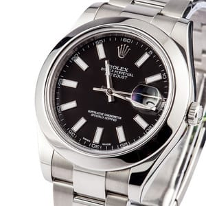 Rolex Datejust 116300 w/ Black Dial