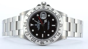 Men's Rolex Explorer II Men's Stainless Steel Watch 16570-BKSO